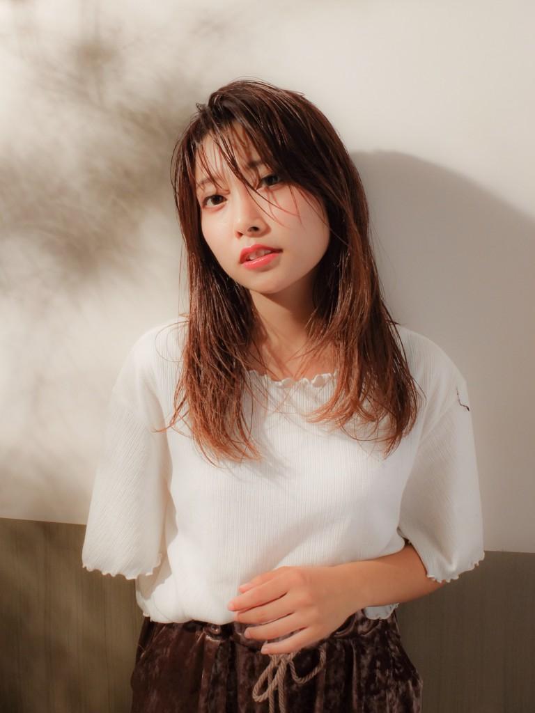 うる艶☆ 大人カッコいいカジュアルスタイル武蔵小杉 美容室MOONヘアースタイル写真