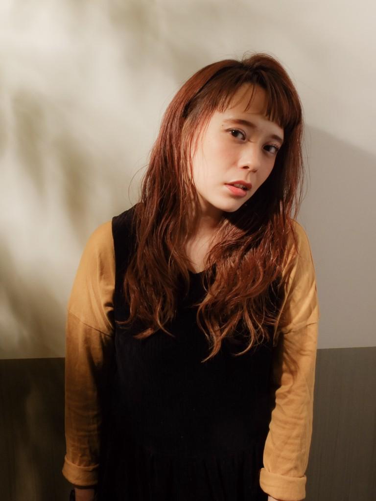 クール可愛い☆大人ロングスタイル武蔵小杉 美容室MOONヘアースタイル写真