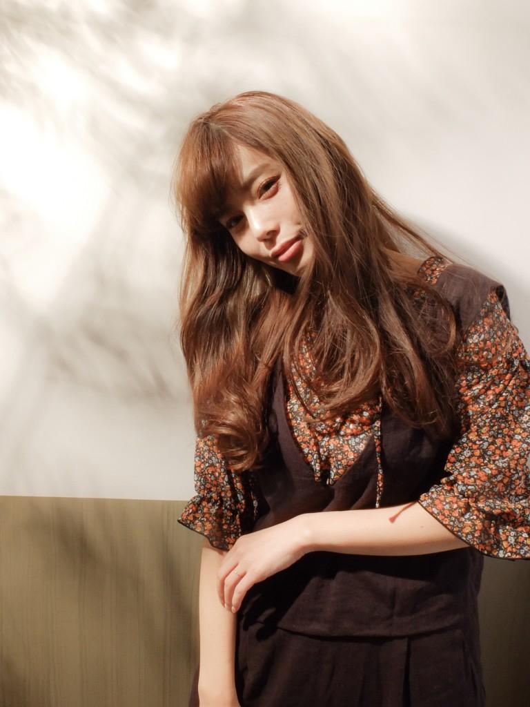 モテ髪♪透明感でつくる愛されロングウェーブ武蔵小杉 美容室MOONヘアースタイル写真