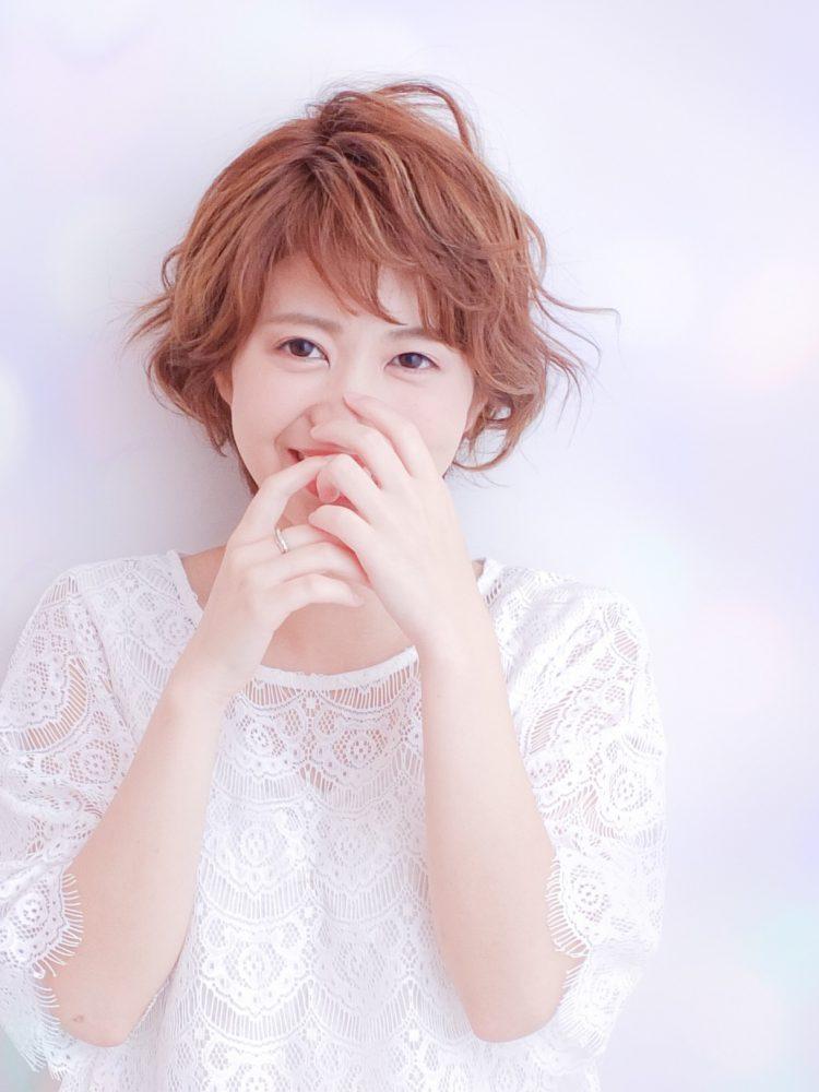 ラフな軽さと動きのあるショートボブ☆武蔵小杉・oggiotto1 -武蔵小杉 美容室MOONヘアースタイル写真
