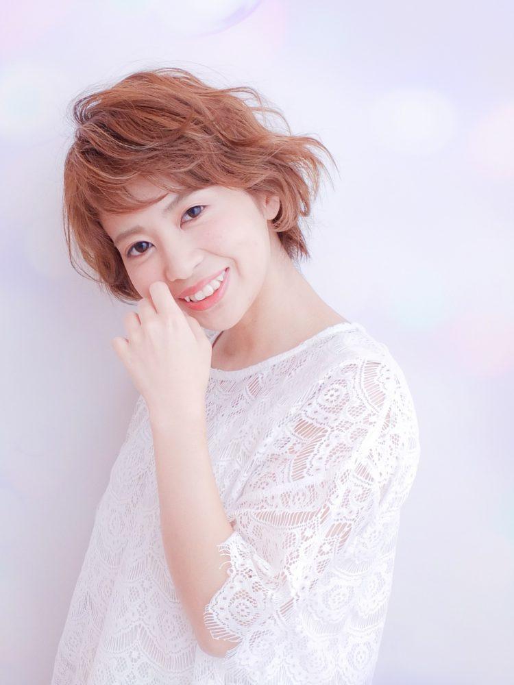 ラフな軽さと動きのあるショートボブ☆武蔵小杉・oggiotto2 -武蔵小杉 美容室MOONヘアースタイル写真