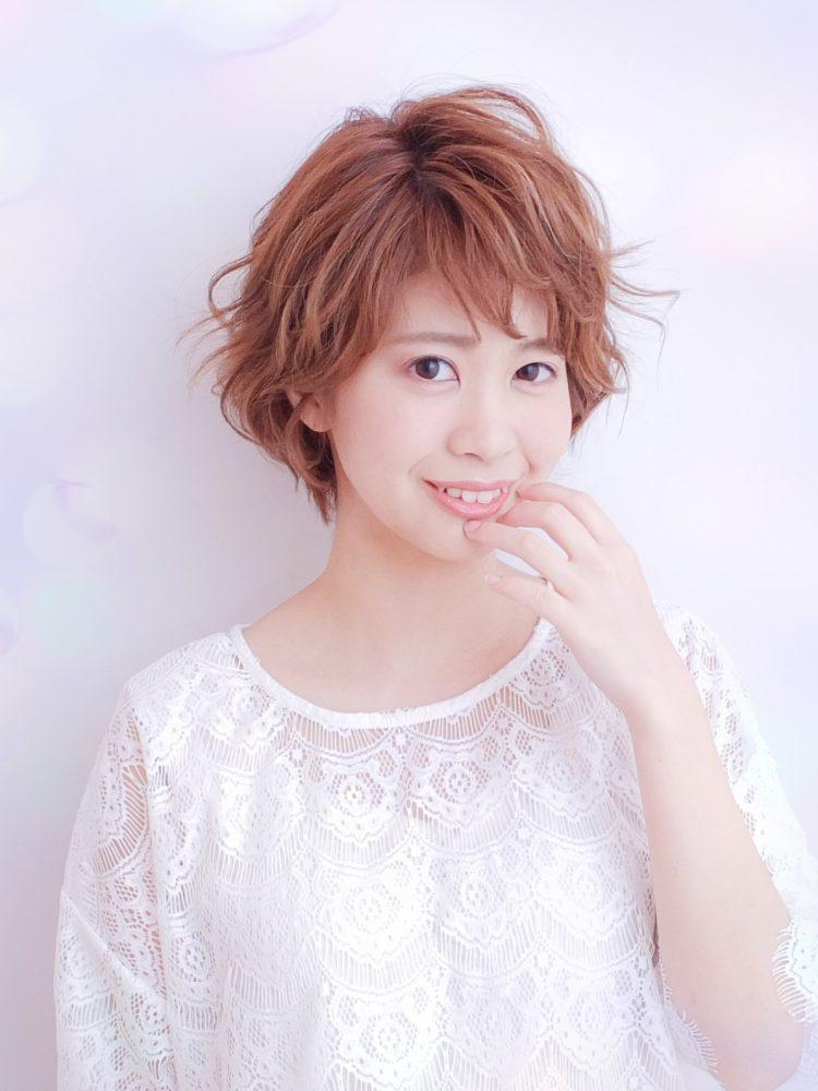 ラフな軽さと動きのあるショートボブ☆武蔵小杉・oggiotto3 -武蔵小杉 美容室MOONヘアースタイル写真