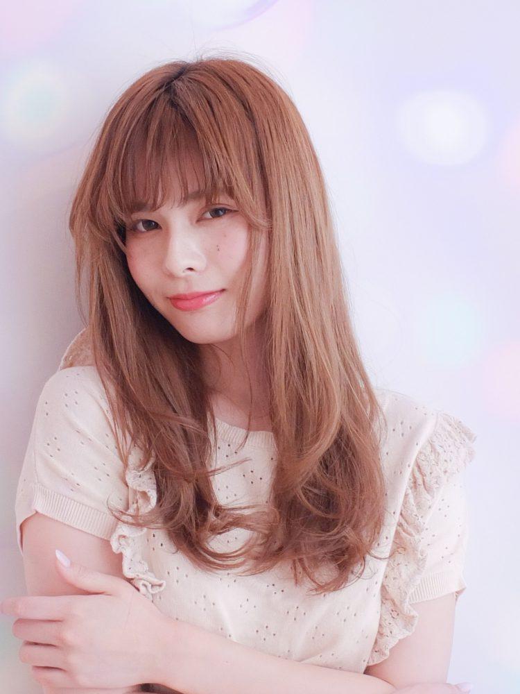 モテ髪♪透明感のあるゆるふわワンカールスタイル【武蔵小杉】1 -武蔵小杉 美容室MOONヘアースタイル写真