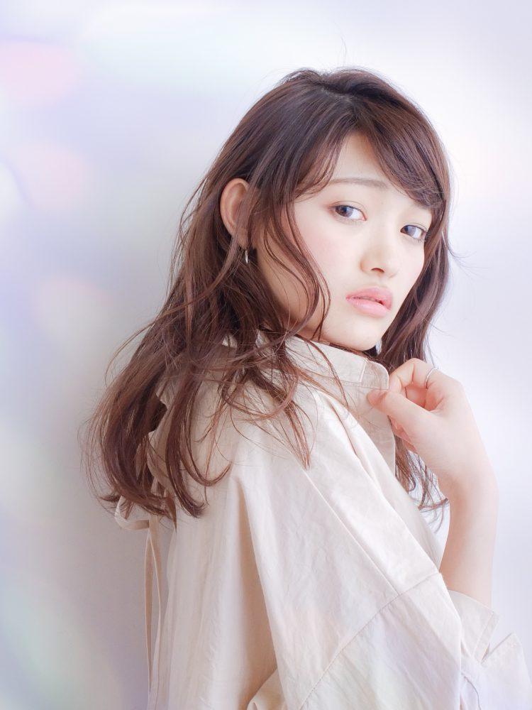 大人かわいいアッシュマッシュウルフ/武蔵小杉/オッジィオット3 -武蔵小杉 美容室MOONヘアースタイル写真