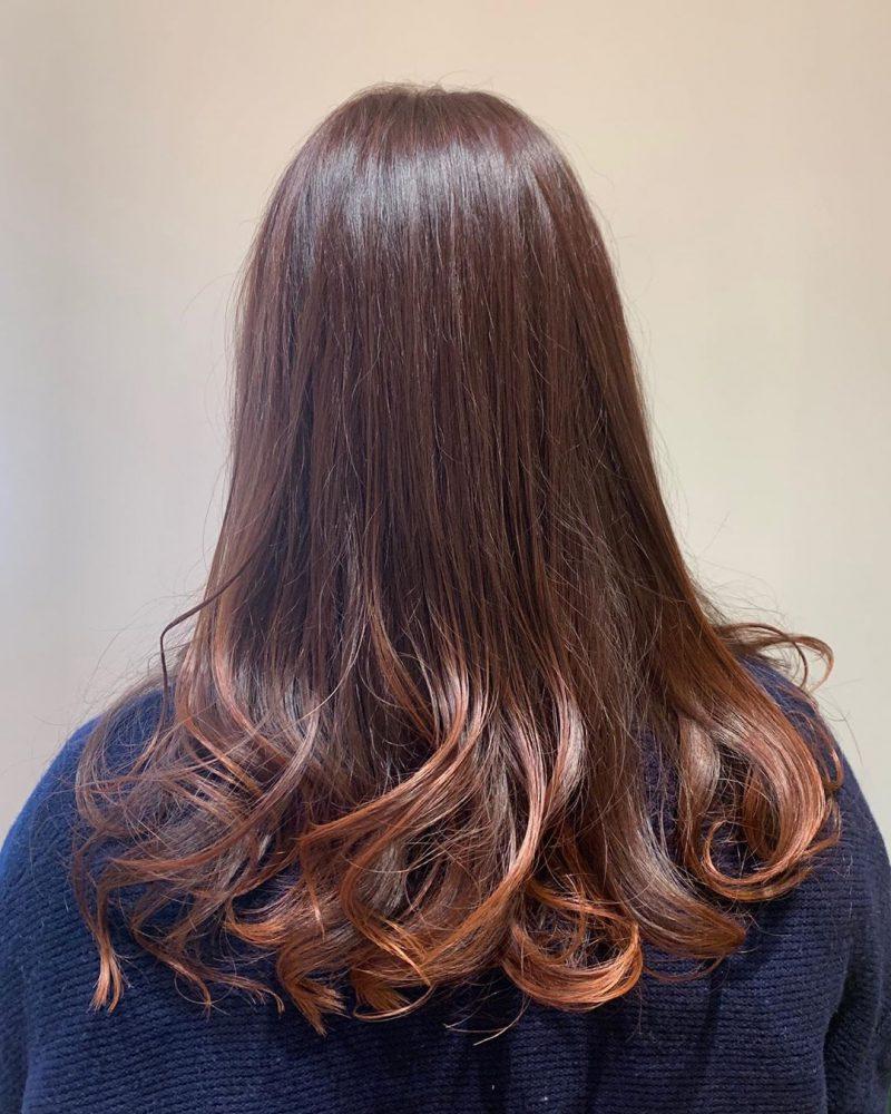 カット カラーリング1 -武蔵小杉 美容室MOONヘアースタイル写真