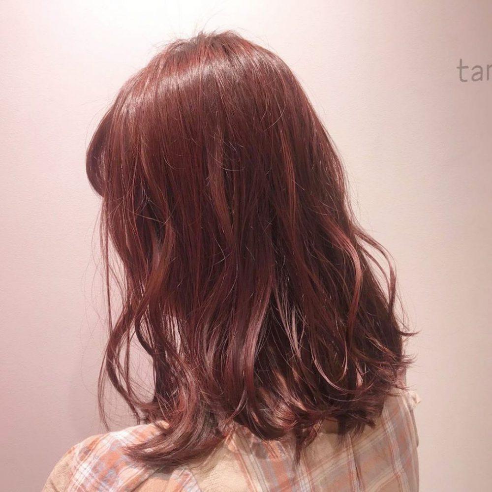 ピンクベースカラー
