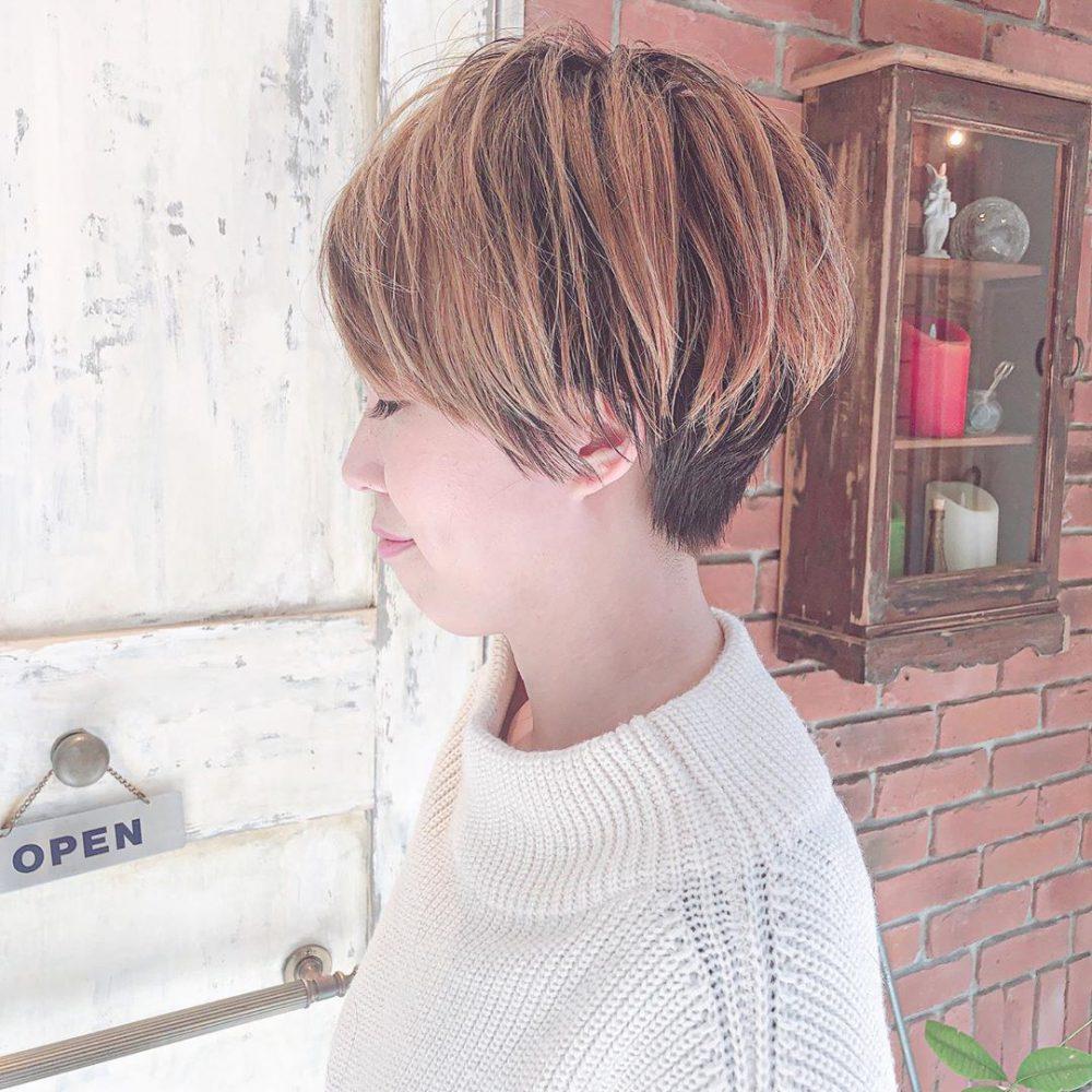 カット・カラーリング1 -武蔵小杉 美容室MOONヘアースタイル写真