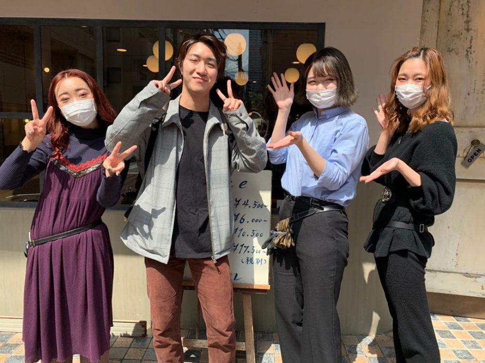 斎藤くんがサロントリートメント体験しに きてくれました!