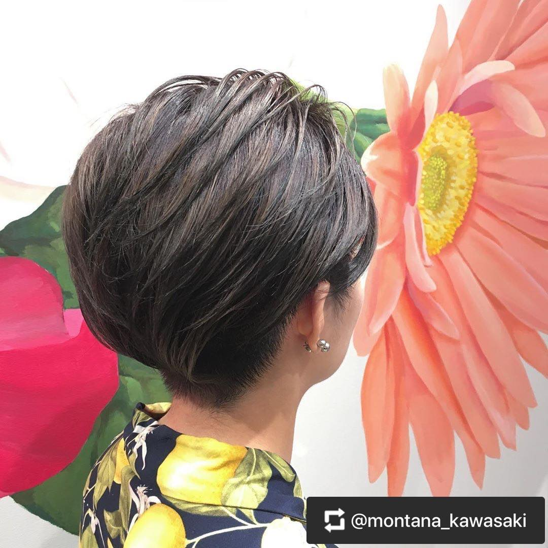 カラーリング1 -武蔵小杉 美容室MOONヘアースタイル写真