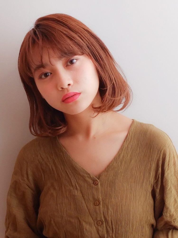 王道の大人可愛い小顔ボブ♡1 -武蔵小杉 美容室MOONヘアースタイル写真