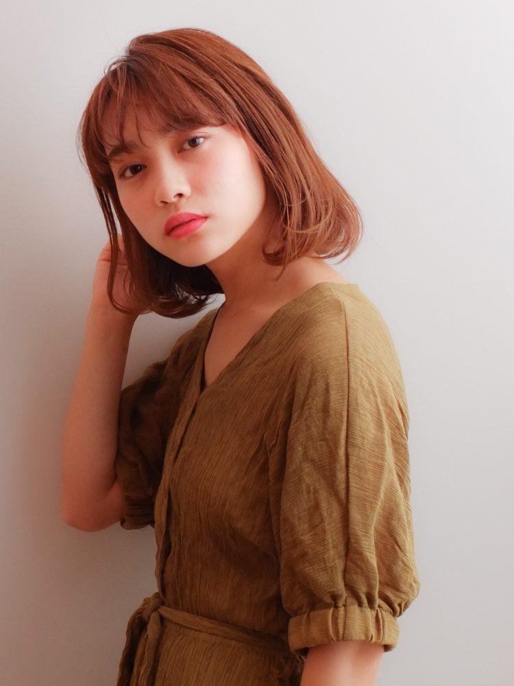 王道の大人可愛い小顔ボブ♡3 -武蔵小杉 美容室MOONヘアースタイル写真