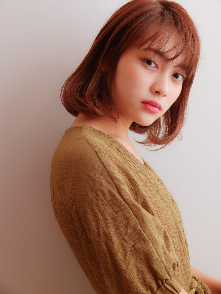 王道の大人可愛い小顔ボブ♡2 -武蔵小杉 美容室MOONヘアースタイル写真
