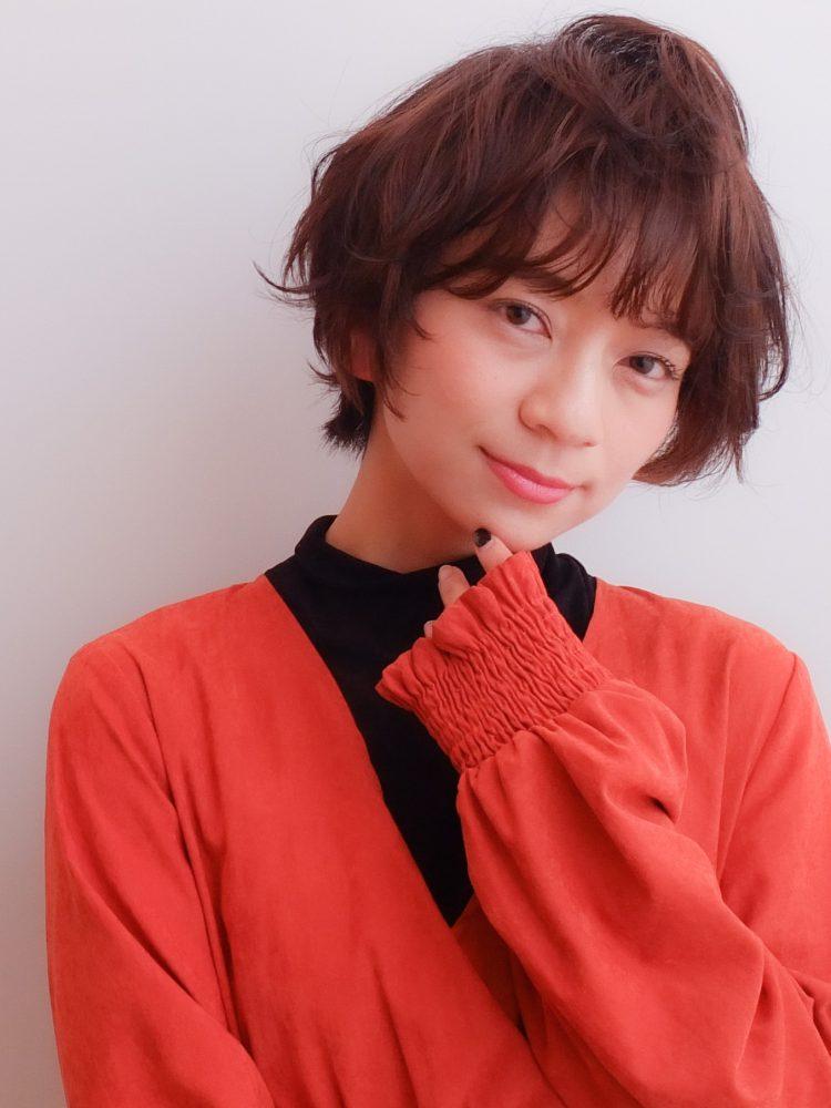 ふわっとナチュラルな大人ショートボブ☆武蔵小杉 美容室MOONヘアースタイル写真