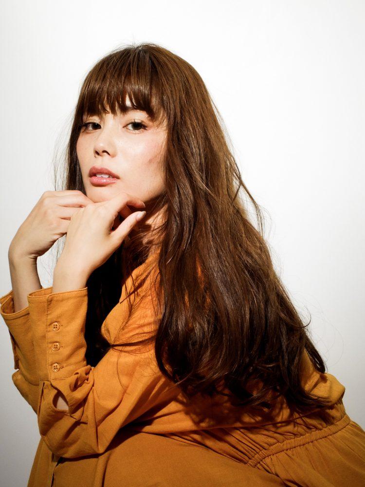 大人愛されカラー☆安定のAラインロング/オッジィオット2 -武蔵小杉 美容室MOONヘアースタイル写真