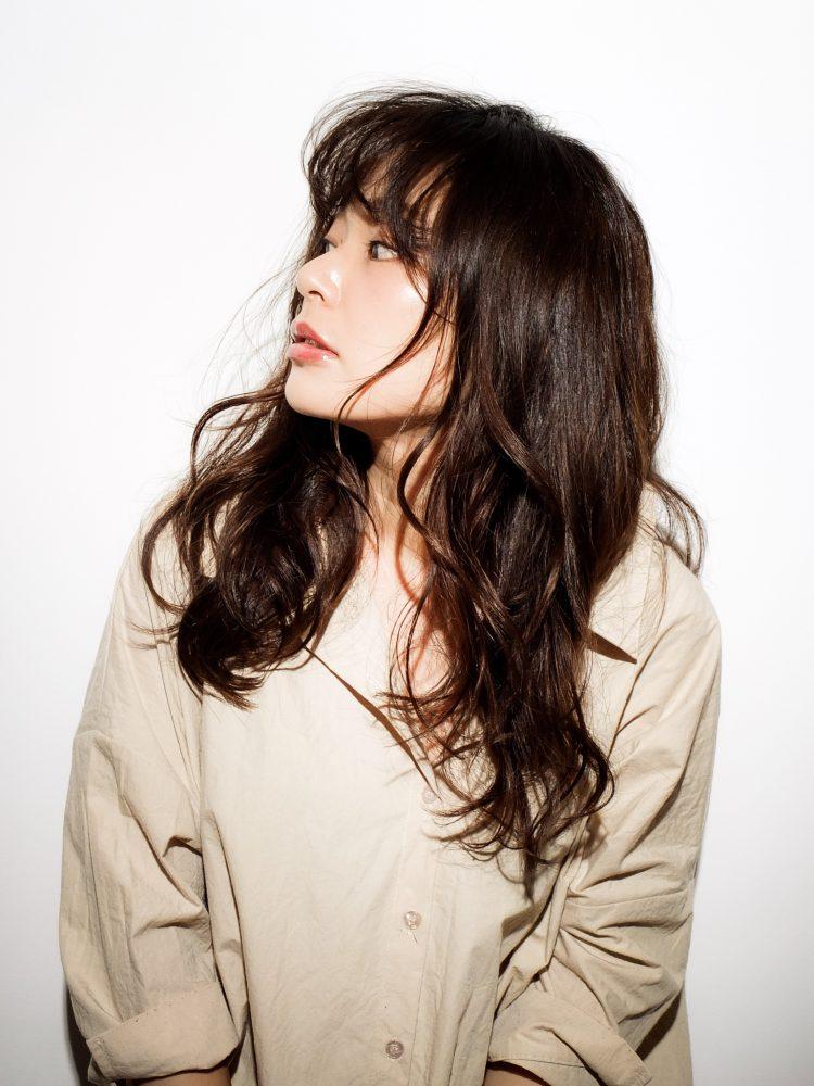 ツヤ髪♪大人かわいいルーズウェーブスタイル3 -武蔵小杉 美容室MOONヘアースタイル写真