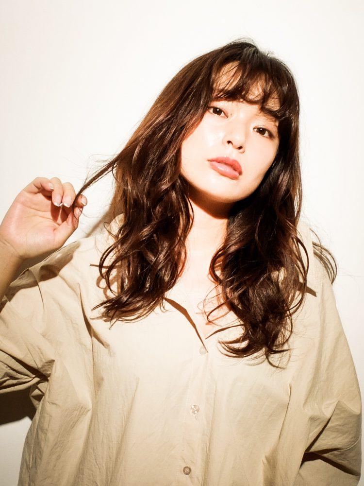 ツヤ髪♪大人かわいいルーズウェーブスタイル1 -武蔵小杉 美容室MOONヘアースタイル写真