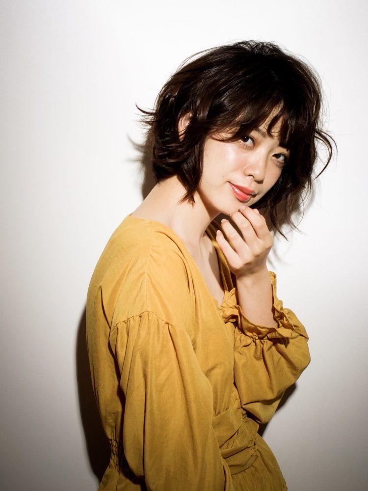 大人かわいい小顔リラックスショートボブ3 -武蔵小杉 美容室MOONヘアースタイル写真