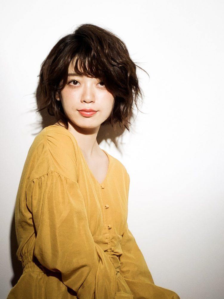 大人かわいい小顔リラックスショートボブ1 -武蔵小杉 美容室MOONヘアースタイル写真