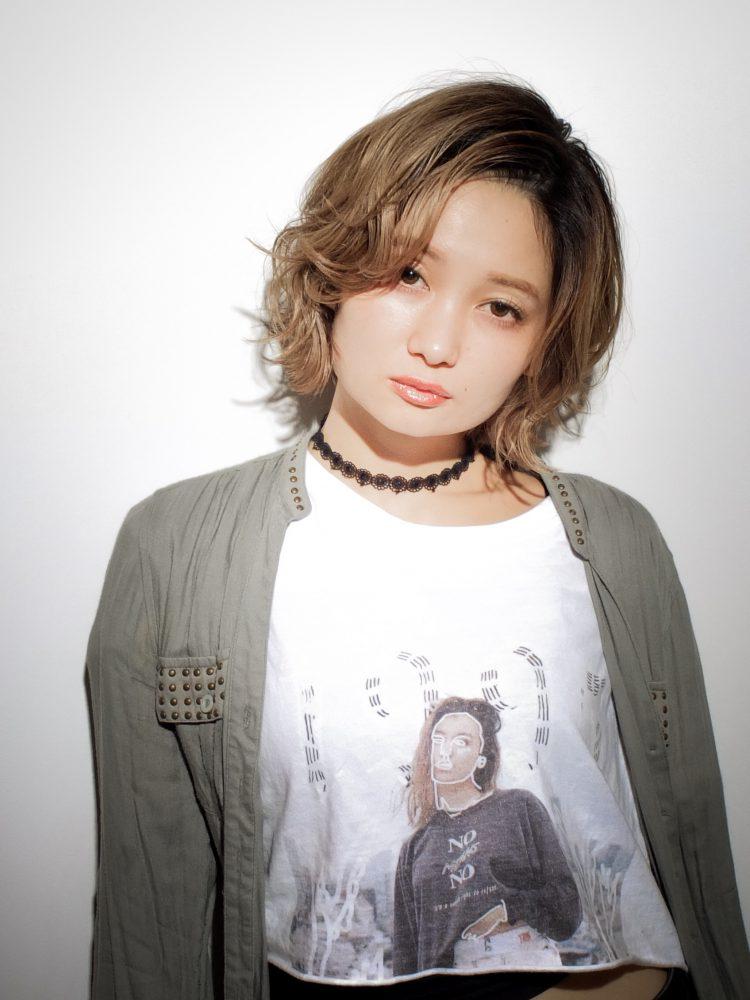 大人愛され☆ラフさと甘さが可愛い☆マッシュ小顔ボブ1 -武蔵小杉 美容室MOONヘアースタイル写真