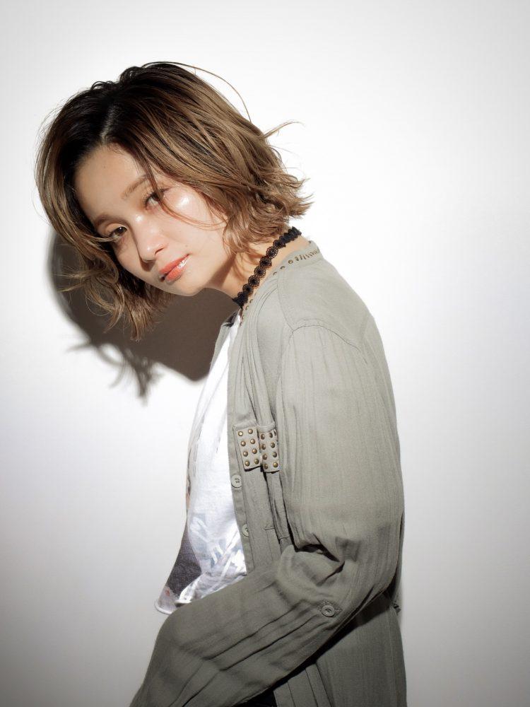 大人愛され☆ラフさと甘さが可愛い☆マッシュ小顔ボブ2 -武蔵小杉 美容室MOONヘアースタイル写真