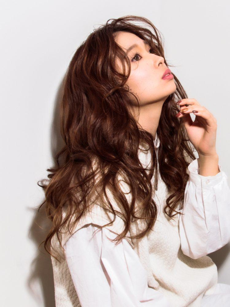 大人かわいいゆるふわほつれウェーブ3 -武蔵小杉 美容室MOONヘアースタイル写真
