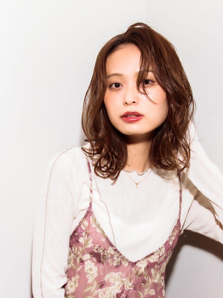 モテ髪♪透明感のあるゆるふわひし形カールスタイル1 -武蔵小杉 美容室MOONヘアースタイル写真