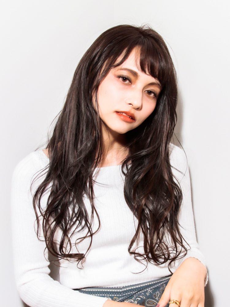 大人かわいい♪艶髪カジュアルロングスタイル3 -武蔵小杉 美容室MOONヘアースタイル写真