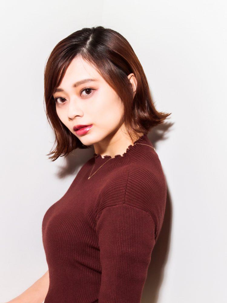 ウル艶☆大人かっこいいボブスタイル1 -武蔵小杉 美容室MOONヘアースタイル写真