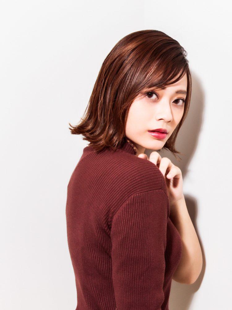 ウル艶☆大人かっこいいボブスタイル2 -武蔵小杉 美容室MOONヘアースタイル写真