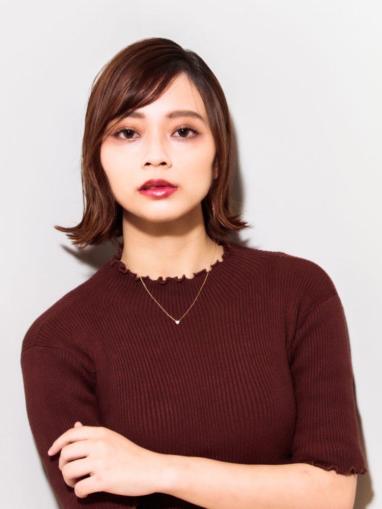 ウル艶☆大人かっこいいボブスタイル3 -武蔵小杉 美容室MOONヘアースタイル写真