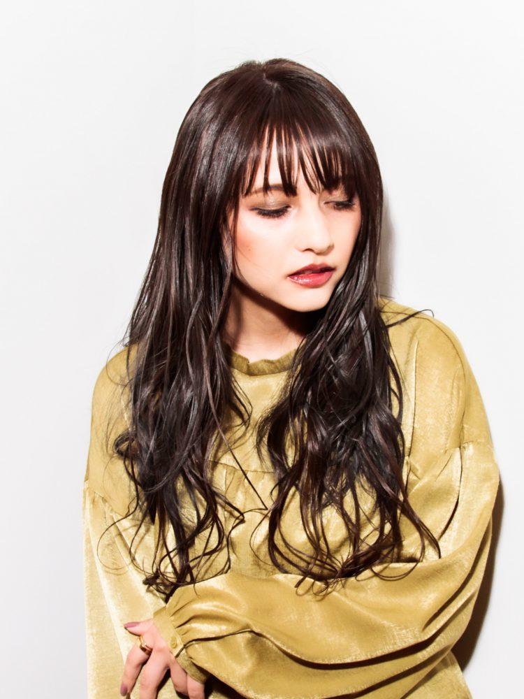 大人エレガンスグラマラスカラー2 -武蔵小杉 美容室MOONヘアースタイル写真